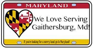 We love serving Gaithersburg, MD