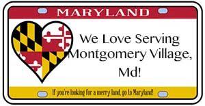 We love serving Montgomery Village, MD
