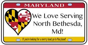 We love serving North Bethesda, MD