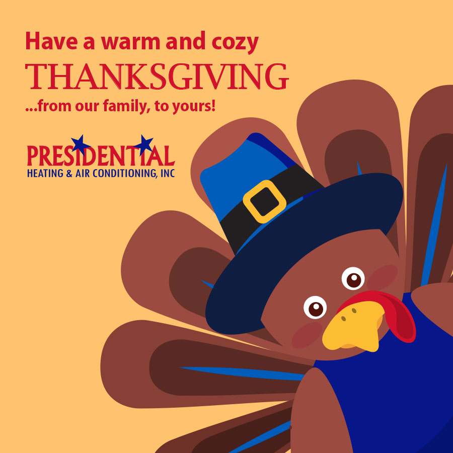 Thanksgiving heating and air conditioning in Gaithersburg