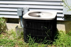 ac unit built during an air conditioning installation