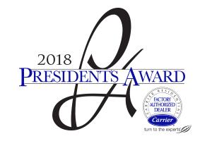 2018 President's Award Winner