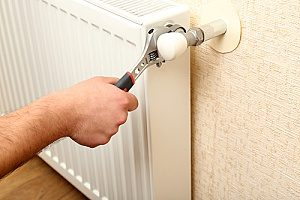 heating repair and maintenance on a heating system