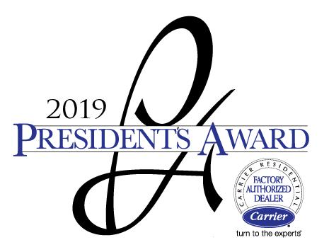 2019 President's Award, Carrier