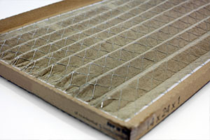 Dirty home air conditioner filter.