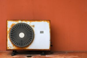 Old Air Conditioning Unit to be Replaced