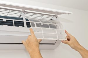 air conditioner filters cleaning