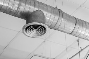 Air Duct or Air Conditioners Pipe. Regular air duct inspection is necessary to check Contaminant build up